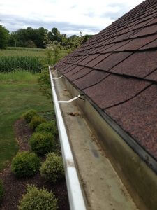 After Gutter Cleaning in Allentown, Pennsylvania by Grime Fighters