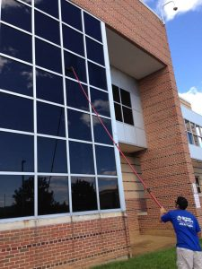 Commercial Window Cleaning in Allentown, Pennsylvania by Grime Fighters