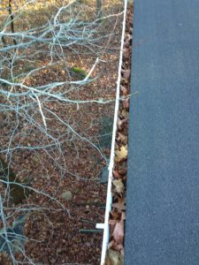 Before Gutter Cleaning in Coopersburg, Pennsylvania by Grime Fighters