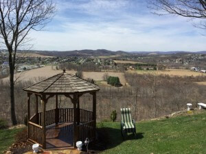 Wood Gazebo Cleaning in Lehigh Valley, Pennsylvania by Grime Fighters