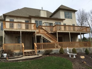 Deck and Balcony Power Washing in Lehigh Valley, Pennsylvania
