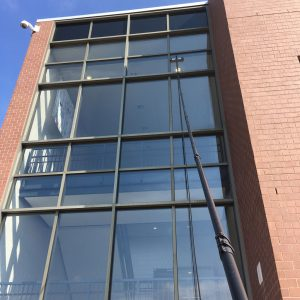 Commercial Window Cleaning in Bethlehem, PA by Grime Fighters