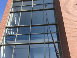 Commercial Window Cleaning in Allentown, PA by Grime Fighters