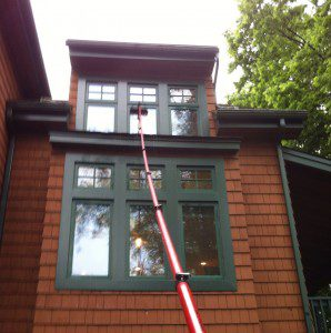 Home Window Cleaning in Allentown, PA by Grime Fighters