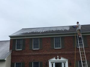 Roof Cleaning in Lehigh Valley, Pennsylvania by Grime Fighters