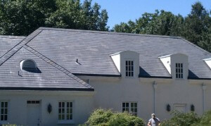 After Roof Cleaning by Grime Fighters in Lehigh Valley, PA