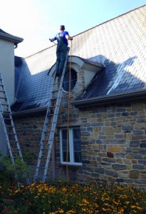 Safely Roof Cleaning in Emmaus, PA