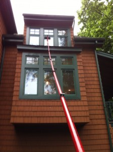 Residential Water-Fed Window Cleaning in Macungie, PA