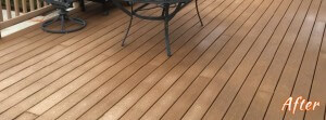 After Deck Cleaning in Emmaus, PA