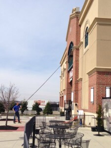 Commercial Window Cleaning at Coca-cola Park in Allentown, PA