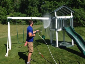 Cleaning Playground Equipment in Allentown, PA