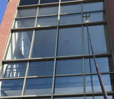 Commercial Window Cleaning in Lehigh Valley, PA by Grime Fighters